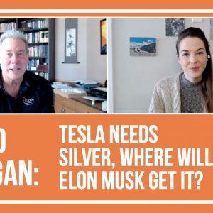 David Morgan: Tesla Needs Silver, Where Will Elon Musk Get It?
