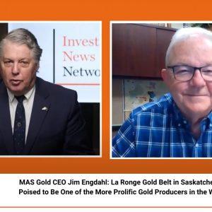 INN CEO Talks: MAS Gold CEO Jim Engdahl