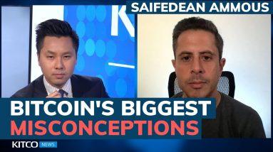Is Bitcoin just valueless fiat? Saifedean Ammous debunks common crypto myths (Pt. 2/2)