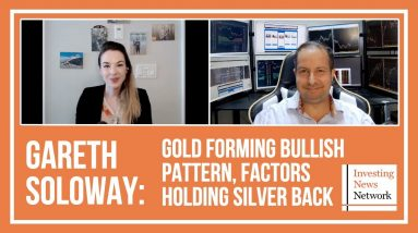 Gareth Soloway: Gold Forming Bullish Pattern, Factors Holding Silver Back
