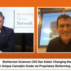 BioHarvest Sciences CEO: Introducing Revolutionary Cannabis Grade via Proprietary Biofarming