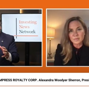 EMPRESS ROYALTY CORP. Alexandra Woodyer Sherron, President & CEO